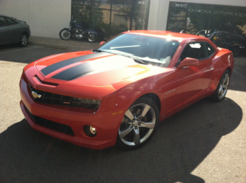 Chevy Camero SS Body Work & Paint