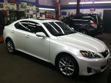 Lexus IS250 Body Work & Paint