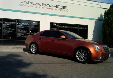 Cadillac CTS Body Work & Paint
