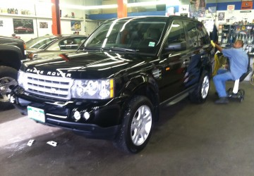 Range Rover Sport Body & Paint